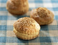 Honey scones Royalty Free Stock Photos