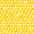 Honey Seamless Pattern Stock Photo