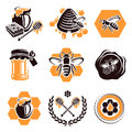 Honey set vector this is file of eps format Stock Photos