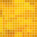 Honey square tile mosaic with white borders -seamless background Royalty Free Stock Photo