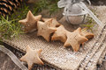 Honey star cookies Royalty Free Stock Image