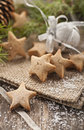 Honey star cookies Stock Images