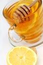 Honey tea Stock Image