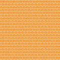 Honeycomb beautiful orange pattern background Royalty Free Stock Image