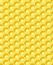Honeycomb completely seamless pattern Stock Photography