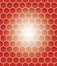 Honeycomb grid Stock Photo