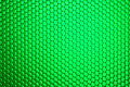 Honeycomb grid against green background Royalty Free Stock Photography
