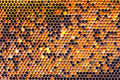 Honeycomb pattern Royalty Free Stock Photos
