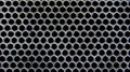 Honeycomb pattern a black and silver abstract Royalty Free Stock Photos
