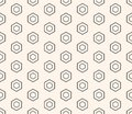 Honeycomb seamless pattern. Design element for prints, decoration, fabric, furniture, digital, web Royalty Free Stock Photo