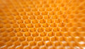 Honeycomb structure for aerospace industry Royalty Free Stock Photo