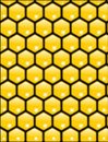 Honeycomb texture vector Royalty Free Stock Photography