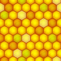 Honeycomb toned pattern Stock Photo