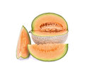 Honeydew melon a juicy melon a juicy honeydew melon from japan o on white background shot in studio Stock Photos