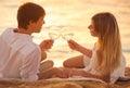 Honeymoon Concept, Man And Wom...