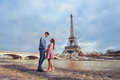 Honeymoon in Paris Royalty Free Stock Photo