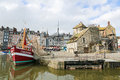 Honfleur france feb view on the old harbor of calvados france on february this town is a famous sight of normandy and Stock Photos