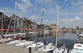 Honfleur harbour Royalty Free Stock Photography