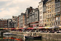 Honfleur harbour in Normandy, France