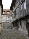 Honfleur seaman`s museum in old timber building, Normandy, France. Royalty Free Stock Photo