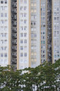Hong Kong Apartment Block Royalty Free Stock Photos