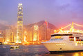 Hong Kong bay Stock Photography