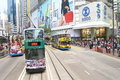 Hong Kong : Causeway Bay Royalty Free Stock Photo