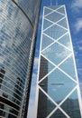 Hong Kong, China: Bank of China Stock Images