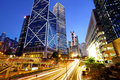 Hong Kong city traffic Royalty Free Stock Photo