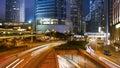 Hong Kong city and traffic Royalty Free Stock Photo