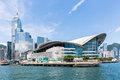 Hong Kong Convention and Exhibition Centre Royalty Free Stock Photo