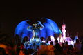 Hong kong disneyland disneys haunted halloween at during oct Stock Photography