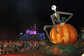 Hong kong disneyland disneys haunted halloween at during oct Royalty Free Stock Photography