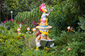 HONG KONG DISNEYLAND - MAY 2015: Donald Duck and nephews explore the park