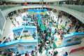Hong kong dutch lady pure animal husbandry farm event located in metro city plaza the aims to promote the nutritional value Stock Image