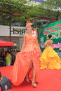 Hong kong dutch lady pure animal husbandry farm event located in metro city plaza the aims to promote the nutritional value Royalty Free Stock Photo