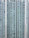 Hong Kong high density housing Royalty Free Stock Photo