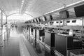 Hong Kong International Airport interior Royalty Free Stock Photo