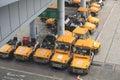 Hong kong international airport june also call chek lap kok Stock Photos