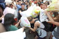 Hong kong intl pillow fight international in Royalty Free Stock Photography