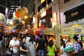 Hong kong lan kwai fong beer music fest kong's biggest ever outdoor party the carnival is overwhelmed with exuberant festive Stock Photos