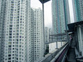 Hong kong life buildings view Royalty Free Stock Photo