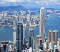 Hong Kong metropolis Royalty Free Stock Image