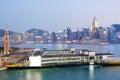 Hong Kong modern city Stock Photos