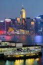 Hong Kong modern city Royalty Free Stock Photos