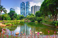 Hong Kong Park Royalty Free Stock Image