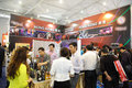 Hong kong pavilion th china food drinks fair chengdu march th th Royalty Free Stock Image