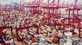 Hong Kong port Royalty Free Stock Images