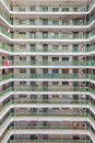Hong Kong Residential old architecture estate, China Royalty Free Stock Photo