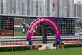 Hong Kong Reunification Raceday Royalty Free Stock Images